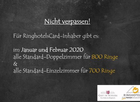 RinghotelsCard-Inhaber aufgepasst!